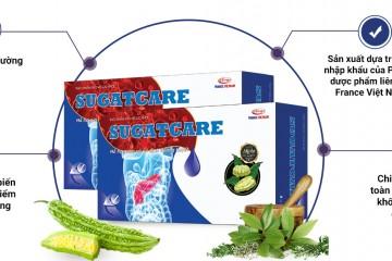 Review Viên uống Sugatcare giảm đường huyết, ổn định sức khỏe